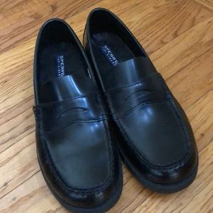 Boy's Sperry leather Dress shoe